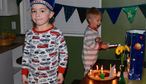 Think Win-Win, Especially With a Five-Year-Old and His Birthday