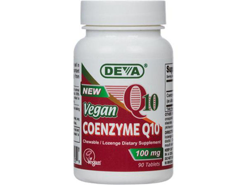 Vegan Coenzyme Coq10 100 mg chewable