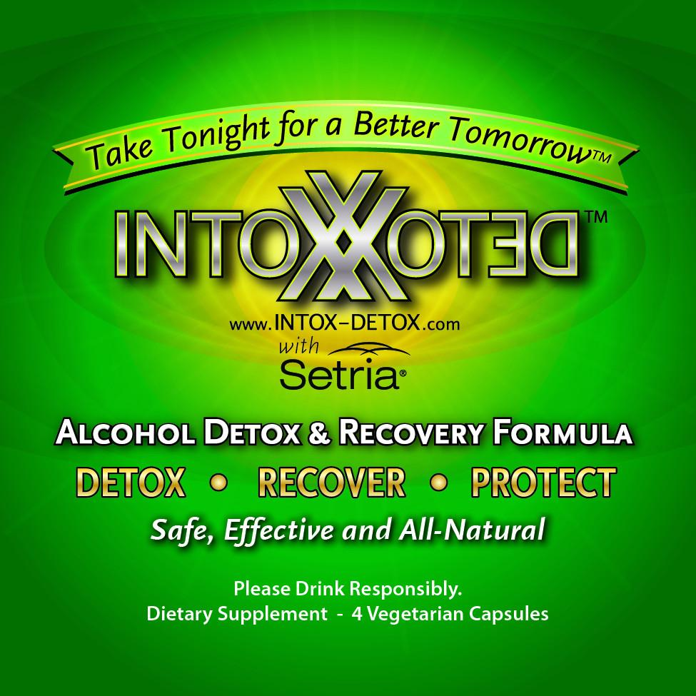 InTox-Detox 3 Pack All Natural Liver Detox Formula
