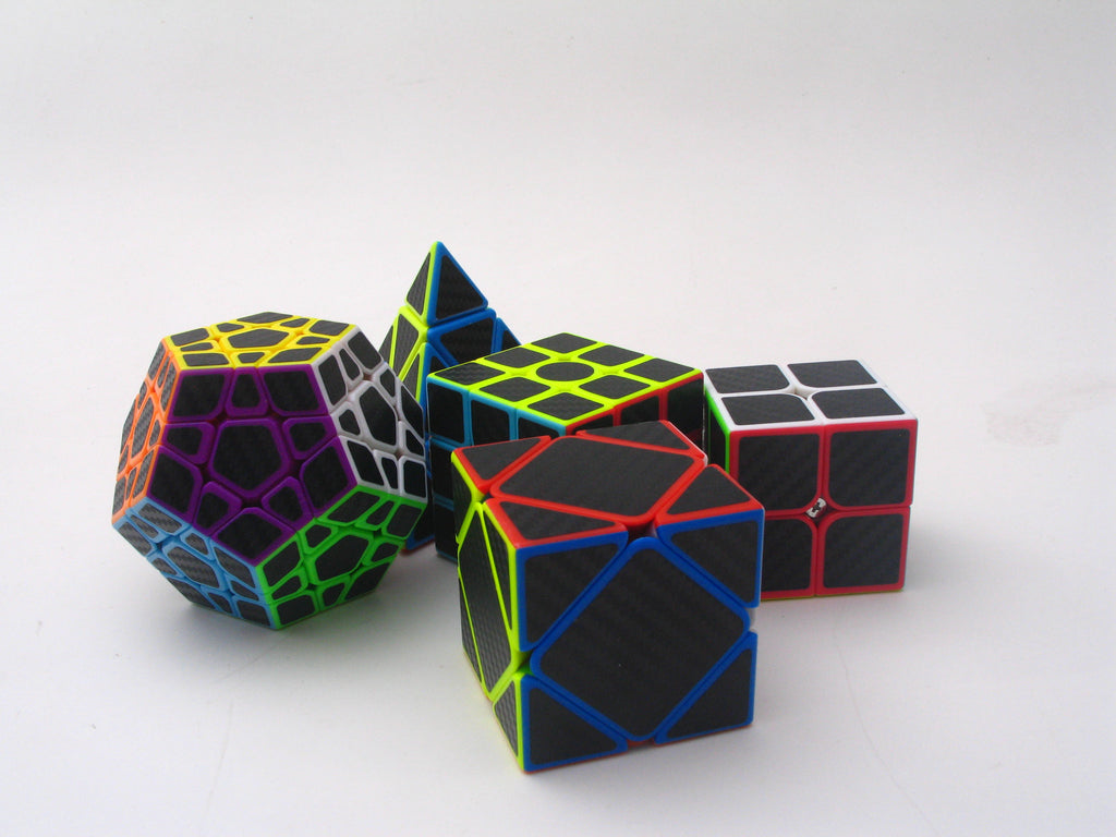 Z-Cube Five Cubes Carbon-Fibre
