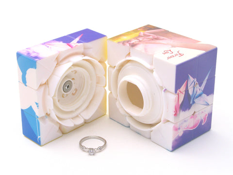 YuXin Love Cube 3x3x3 with Ring