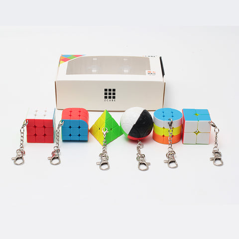 Z-Cube Mini Keychain Bundle