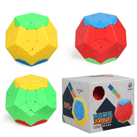 ShengShou 3-Color Megaminx
