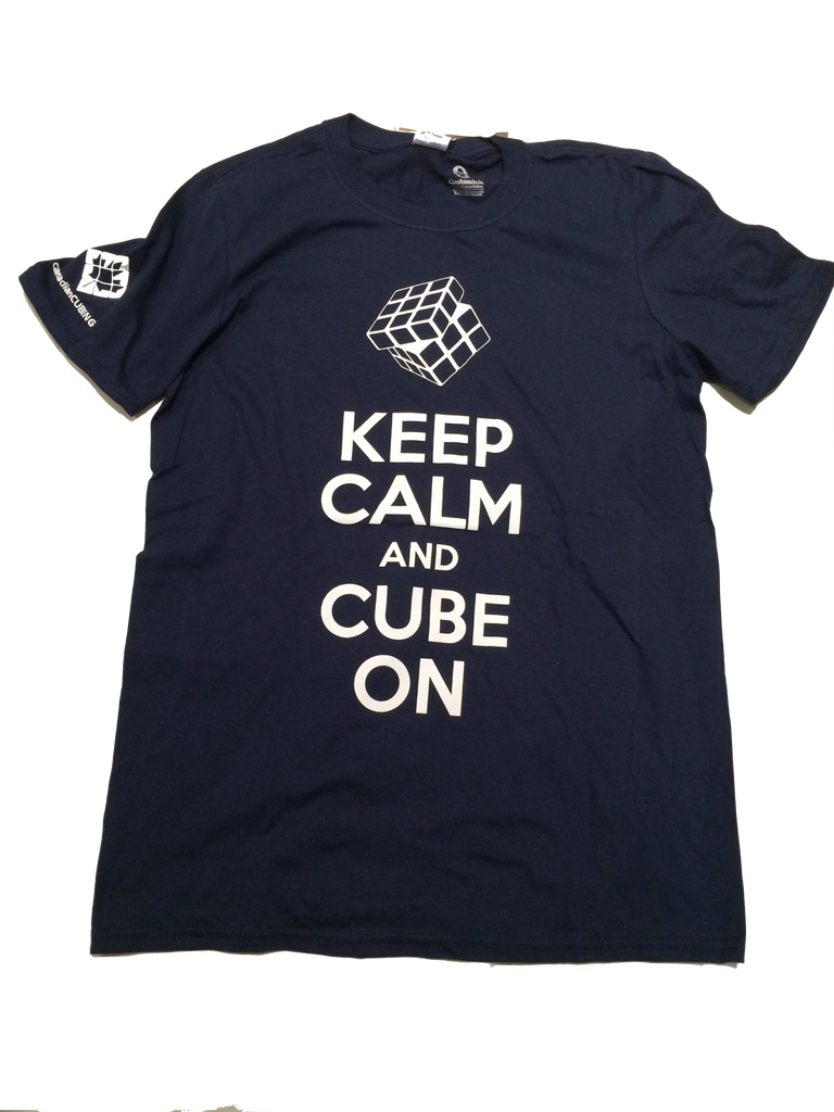 Keep Calm and Cube On - Shirt