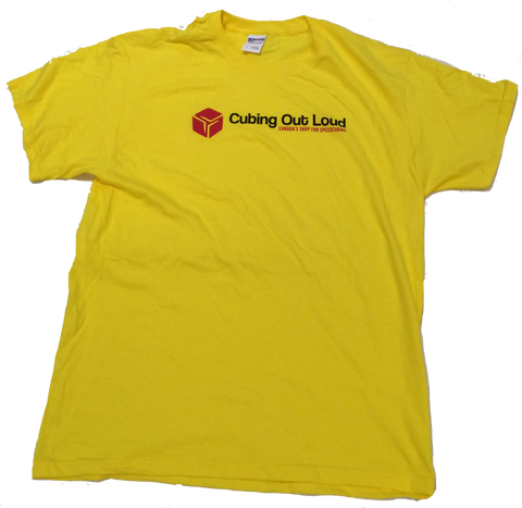 Cubing Out Loud Shirt