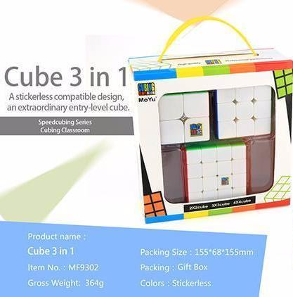 MoFangJiaoShi Three Cube Gift Pack
