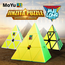 Load image into Gallery viewer, MoFang JiaoShi MeiLong Pyraminx