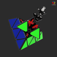 Load image into Gallery viewer, QiYi X-Man Bell Magnetic Pyraminx V2
