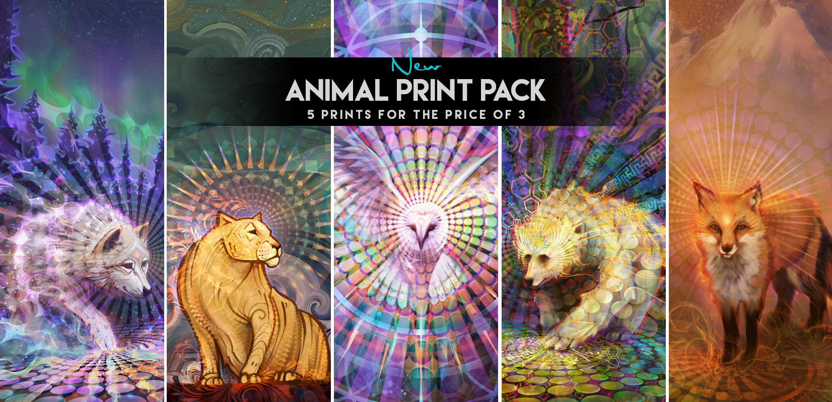 Visionary Art Animal Prints by Simon Haiduk