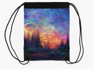 Agostina Sky - Drawstring Backpack