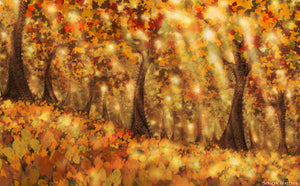 Autumn Dream - Digital Wallpaper