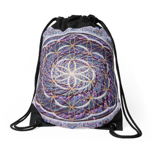 Blossiming Activation - Drawstring Backpack