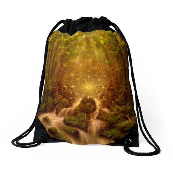 Divine Encounter - Drawstring Backpack