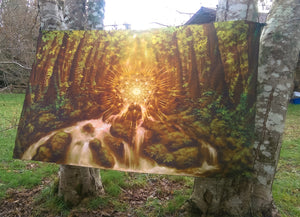 Divine Encounter Tapestry