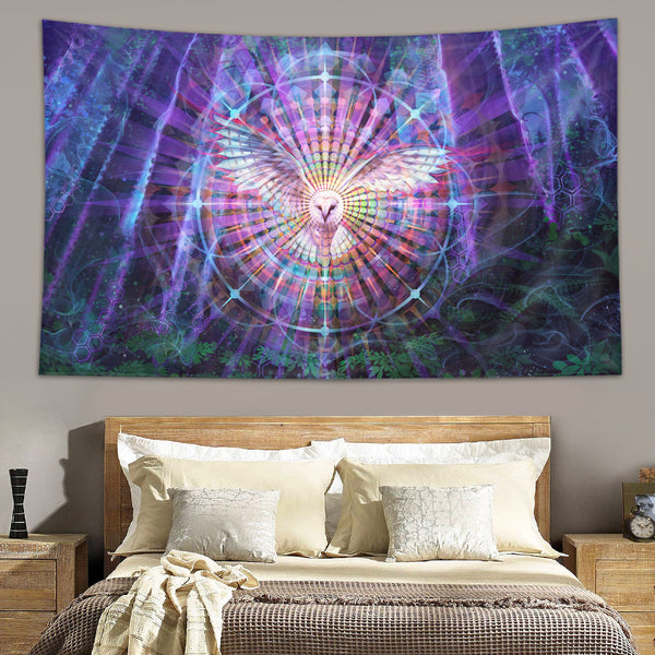 Night Vision Tapestry