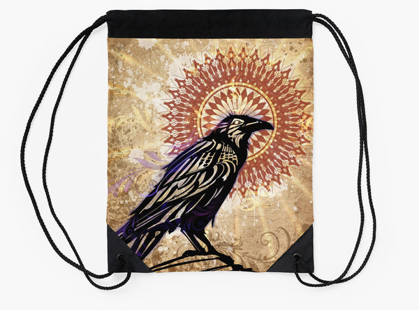 Raven Magic - Drawstring Backpack