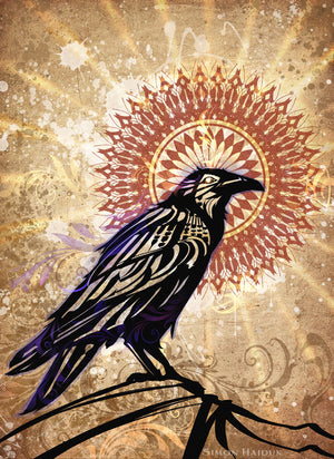 Raven Magic - Canvas Prints
