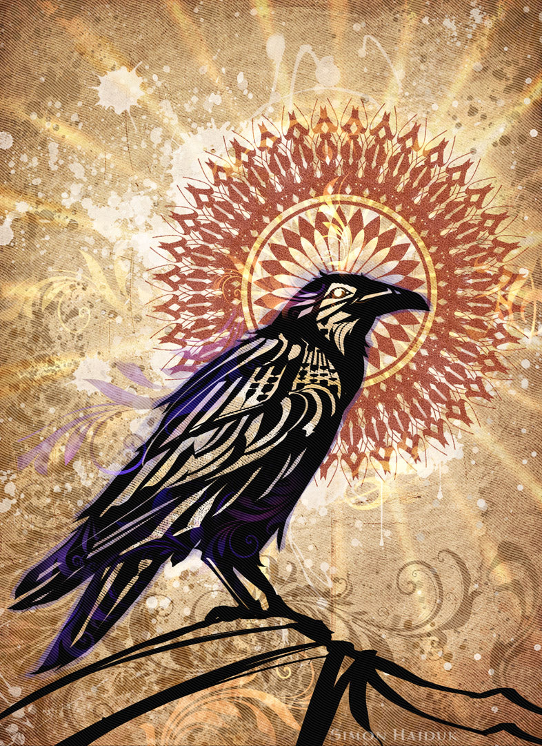Raven Magic Tapestry