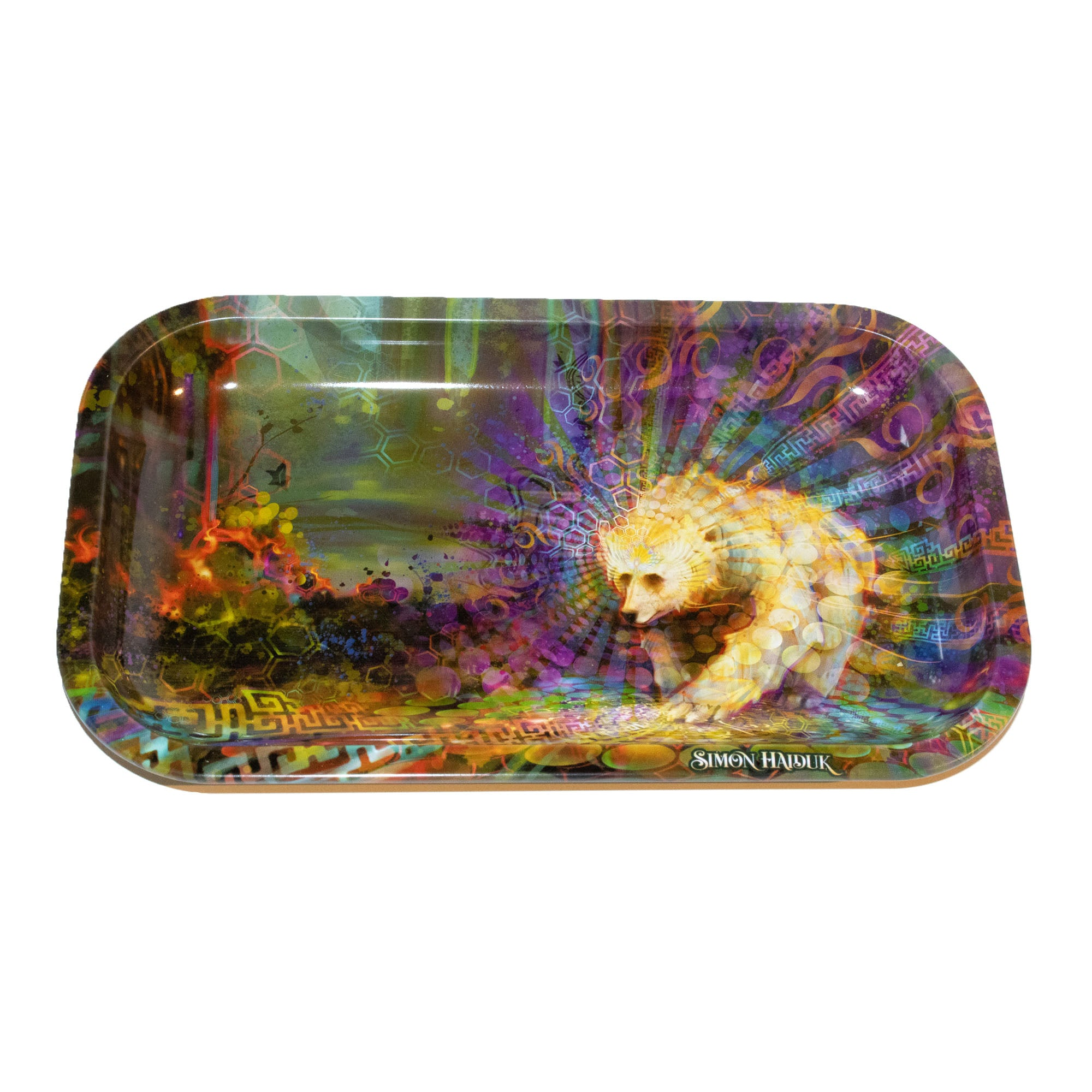 Spirit Bear Rolling Tray
