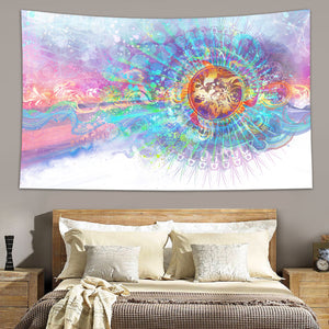 Solar Wave Tapestry