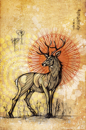 Stag - Canvas Prints