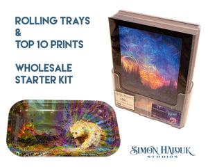 Rolling Trays & Print Pack Wholesale