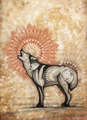 Wolf Totem Tapestry