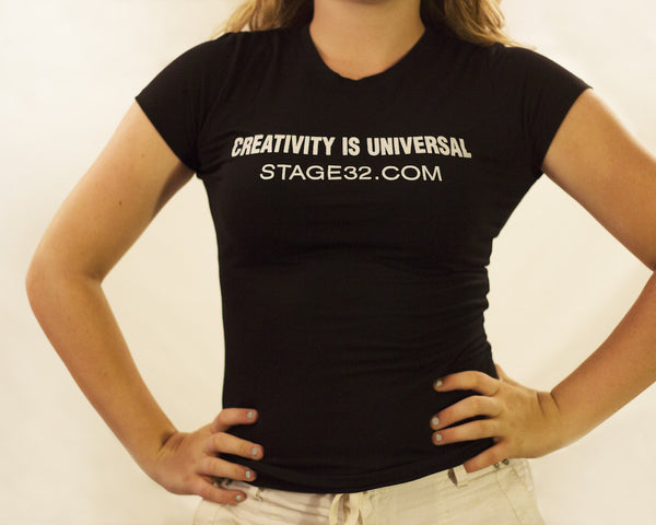 "Women's ""Creativity Is Universal"" Fitted Tri-Blend Tee"