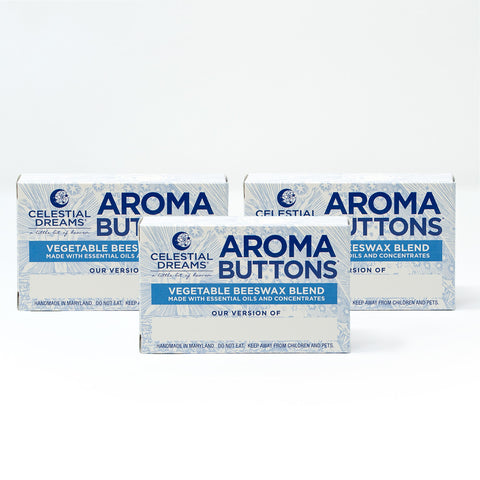 Aroma Buttons: (3) 4 oz. Boxes