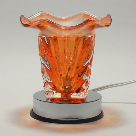 Fan Shape Touch Aroma Lamp