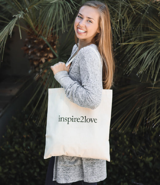 inspire2love Tote Bag