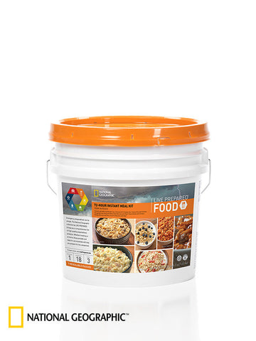 72 Hour Personal Instant Food Kit: Breakfasts and Entrees