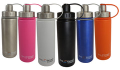 Boulder Triple Insulated Water Bottle - Vacuum Insulated Stainless Steel 20 Oz