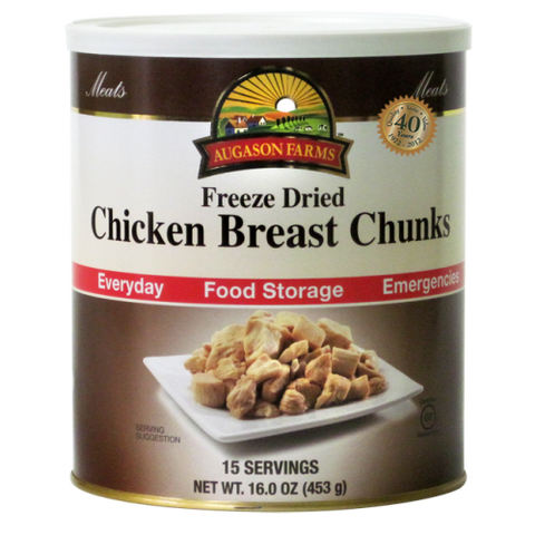 Chicken Breast Chunks Freeze Dried (Real Meat)