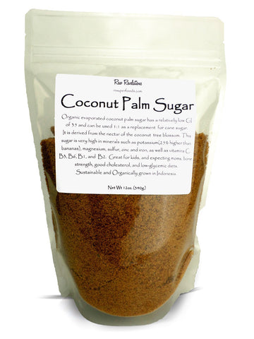 Coconut Palm Sugar 12oz