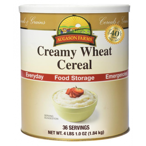 Creamy Wheat Cereal
