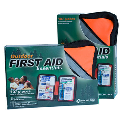First Aid Kit Outdoor 107 Piece Soft Sided