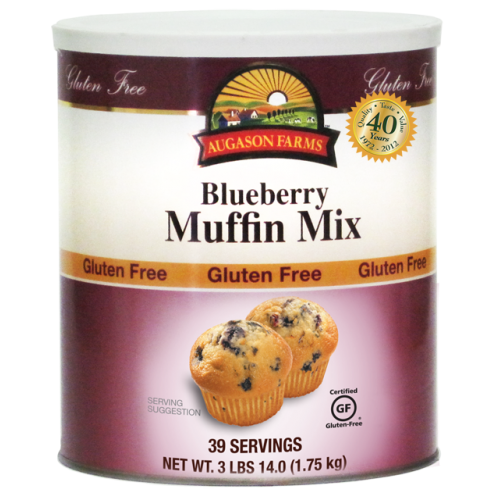 Gluten Free Blueberry Muffin Mix