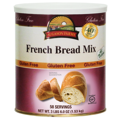 Gluten Free French Bread Mix