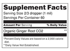 Ginger Oil CO2 2oz