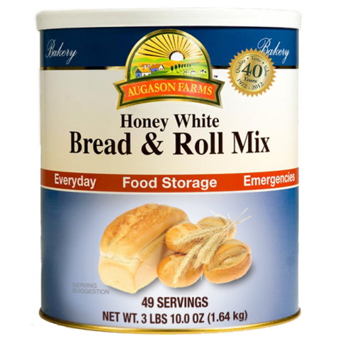 Honey White Bread and Roll Mix