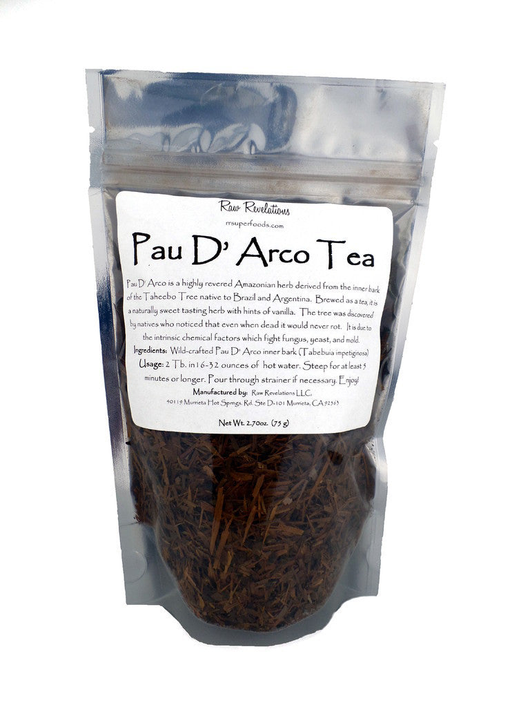 Pau D'Arco Tea Loose 75g