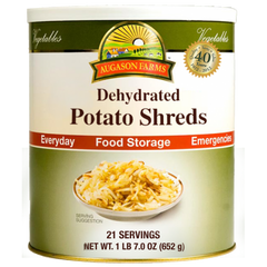 Dehydrated Potato Shreds