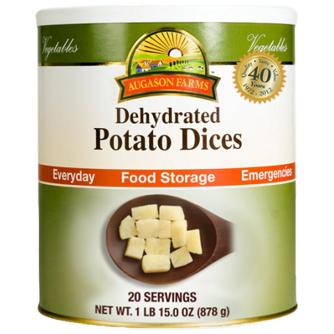 Dehydrated Potato Dices