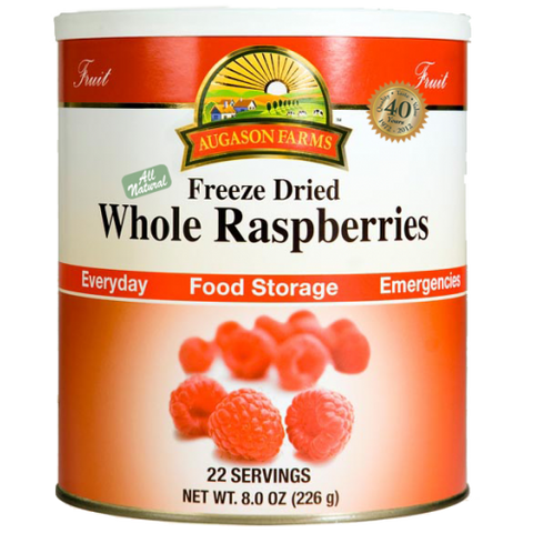 Freeze Dried Whole Raspberries