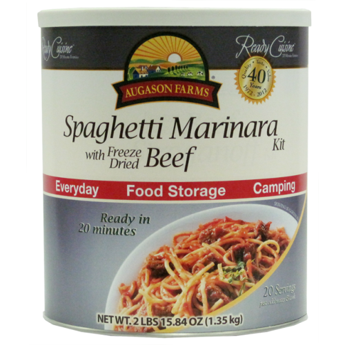 Spaghetti Marinara with Beef
