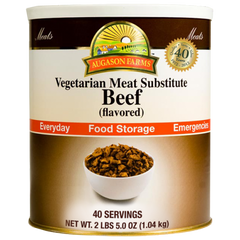 Beef Flavored Vegetarian Meat Substitute