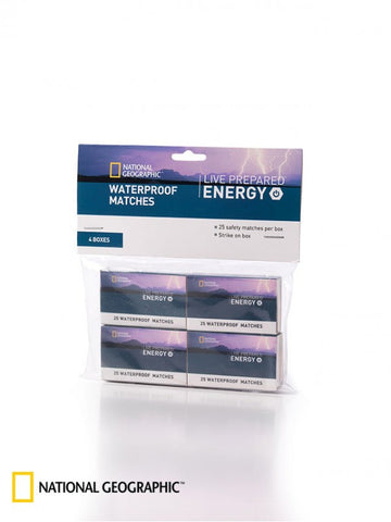 Waterproof Matches 4-pack