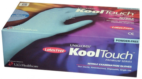 Medical Glove, Non-Latex Blue Nitrile