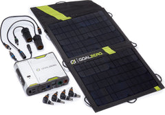 Recharging Solar Kit Sherpa 100 with Nomad 20 and 110V Inverter